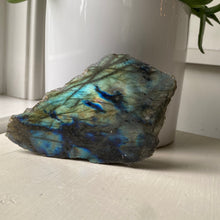 Small Polished and Rough Labradorite Slab