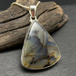 Load image into Gallery viewer, Sterling Silver Dendritic Agate Necklace