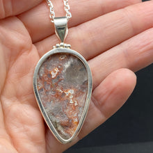 Sterling Silver Ocean Jasper Necklace