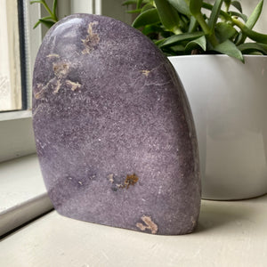 Free Form Lepidolite Tower
