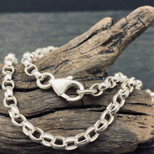 Sterling Silver 4mm Oval Link Rolo Chain