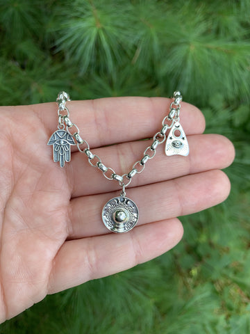 The All Seeing Charm Bracelet