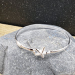 Load image into Gallery viewer, Sterling Silver Starfish Hook Bracelet