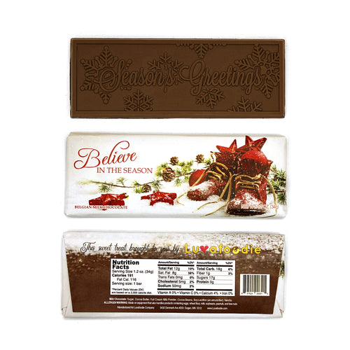 New Belgian Luvafoodie Chocolate Bars Milk Chocolate