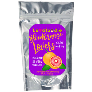 Luvafoodie Blood Orange Lovers Herbal Iced Tea