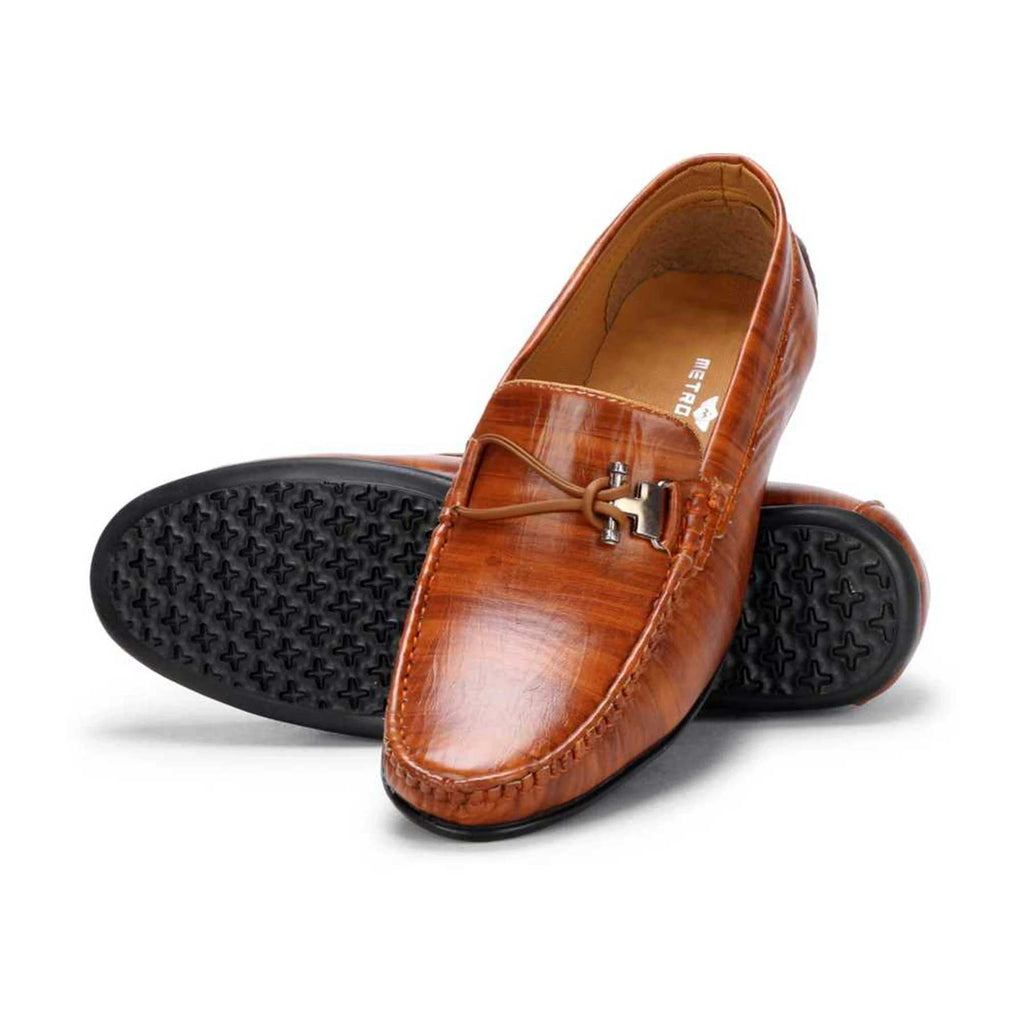 Regular Mocassin Loafers Tan