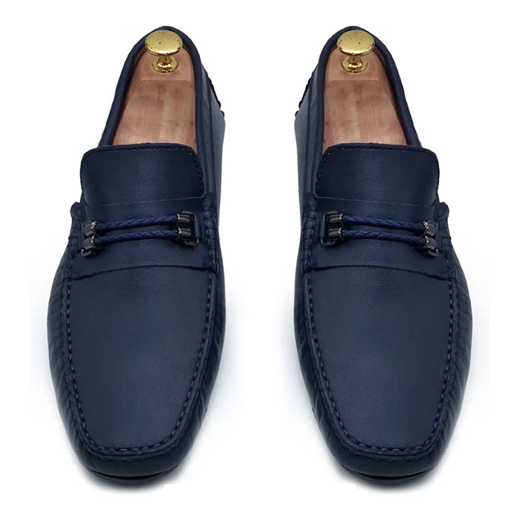 NAVY SHEEP LUXURY LOAFER