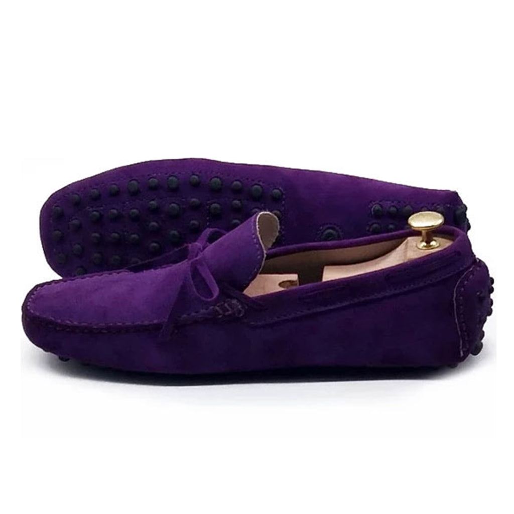 PURPLE SUEDE ORIGINAL DRIVING LOAFER