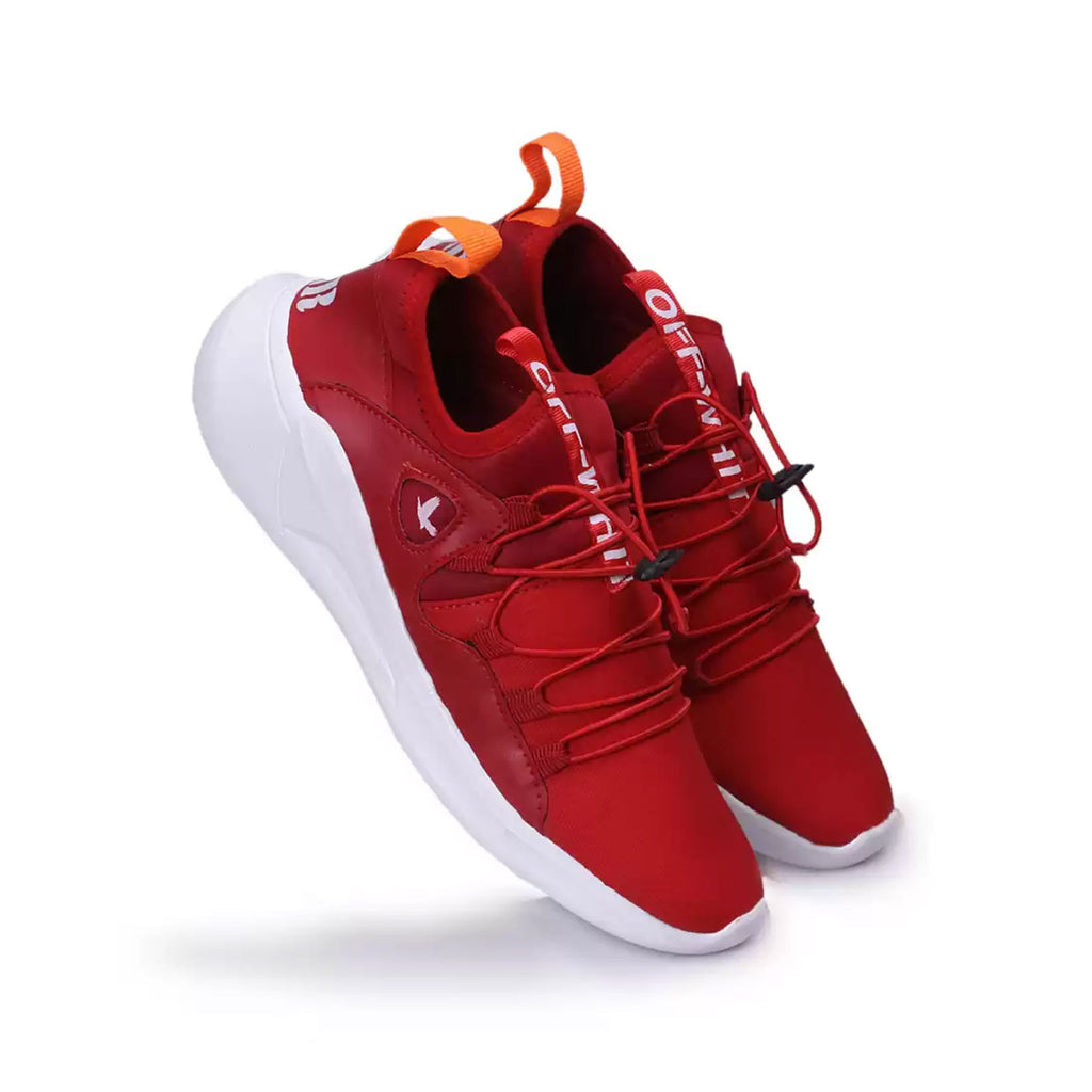 Walking Shoes For Men Red