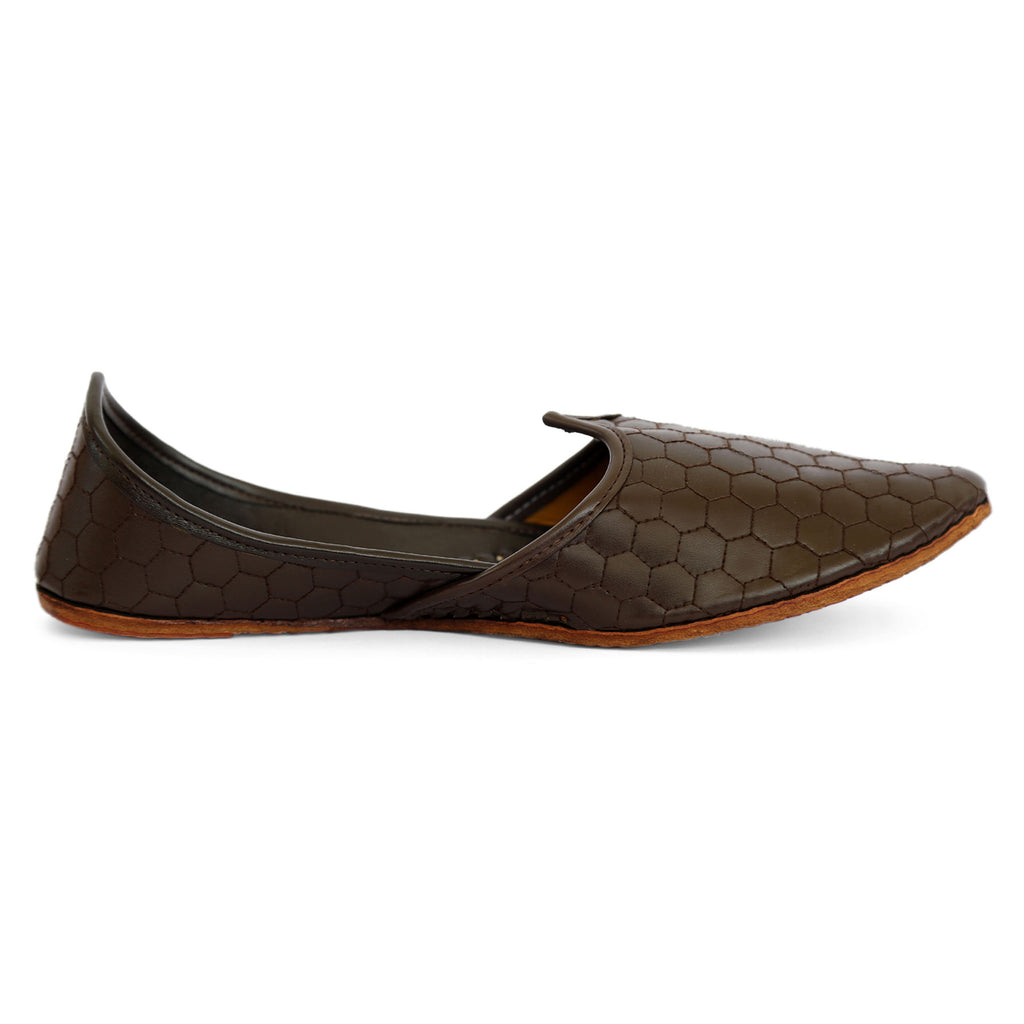 Royal Brown Ethnic Footwear