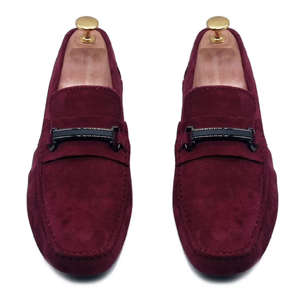 WINE SUEDE ORIGINAL DRIVING LOAFER
