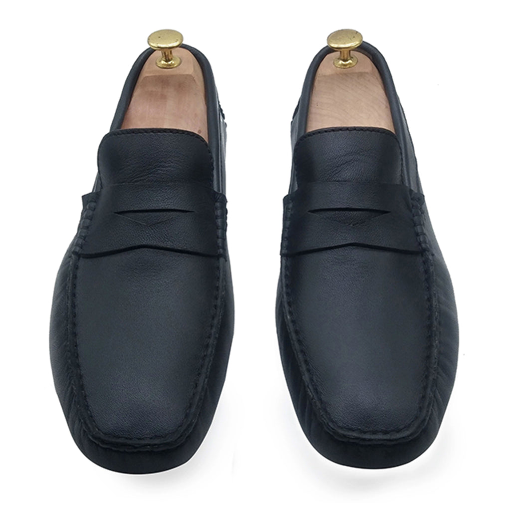 BLACK ORIGINAL DRIVING LOAFER