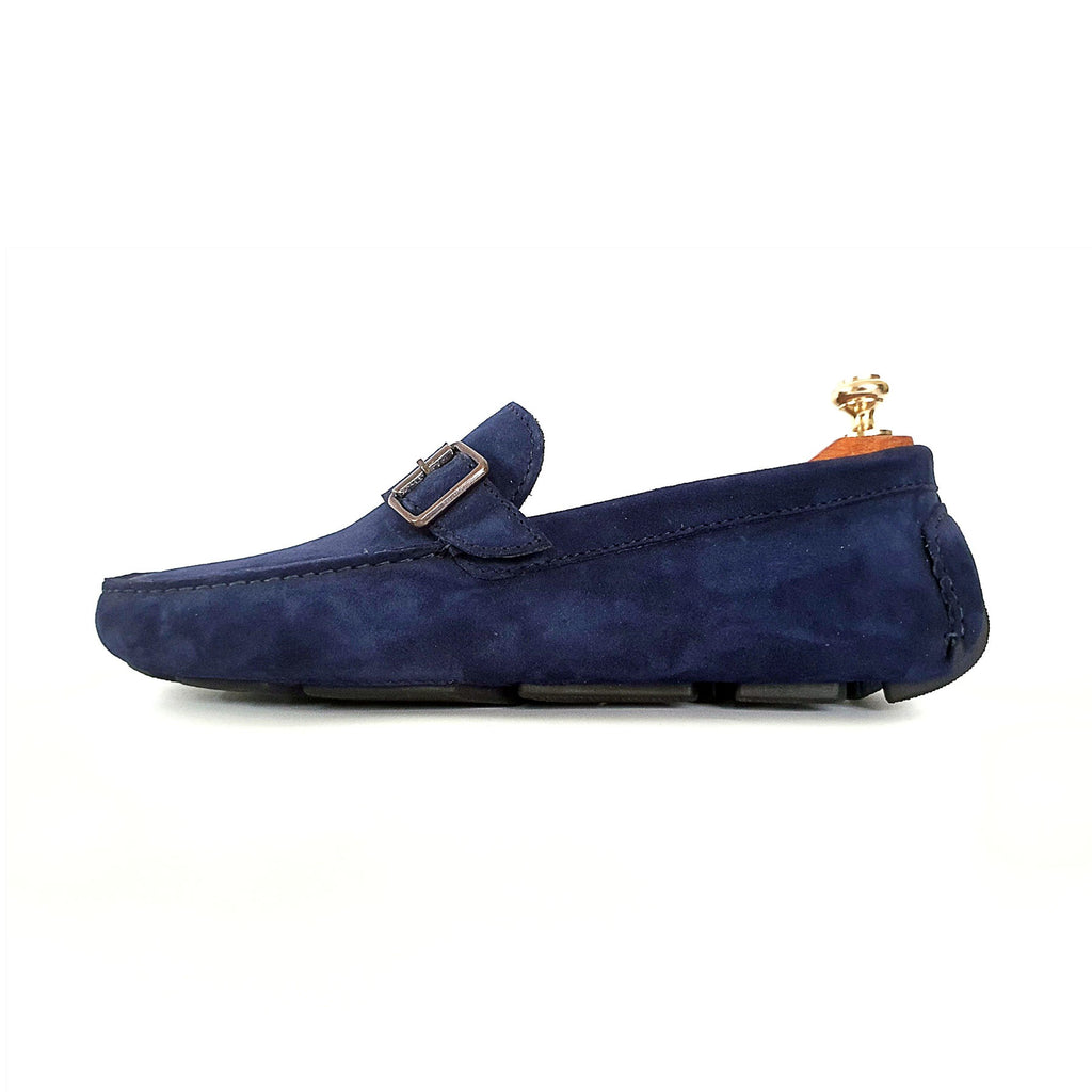 Single Monk Driving Shoes