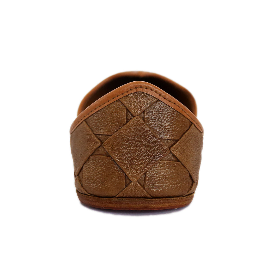 Royal Tan Genuine Leather Jutti