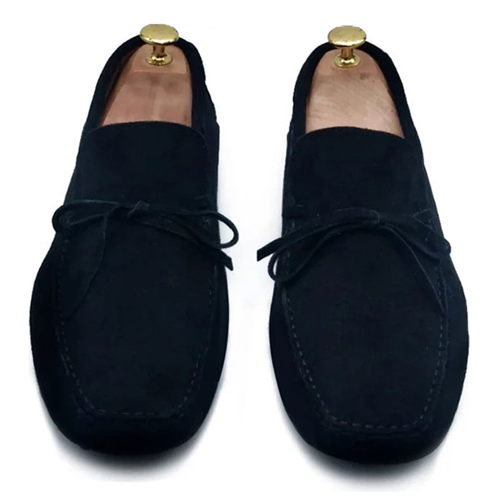 BLACK SUEDE ORIGINAL DRIVING LOAFER