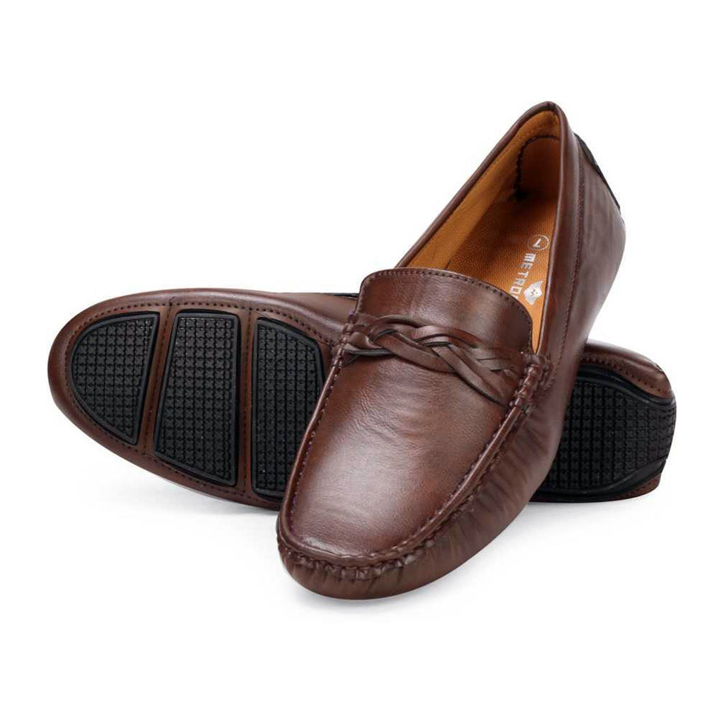 Regular Mocassin Loafers Brown