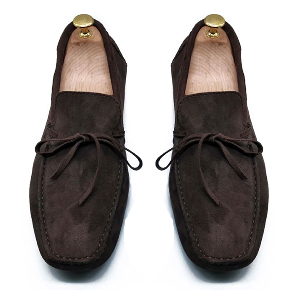 BROWN SUEDE ORIGINAL DRIVING LOAFER