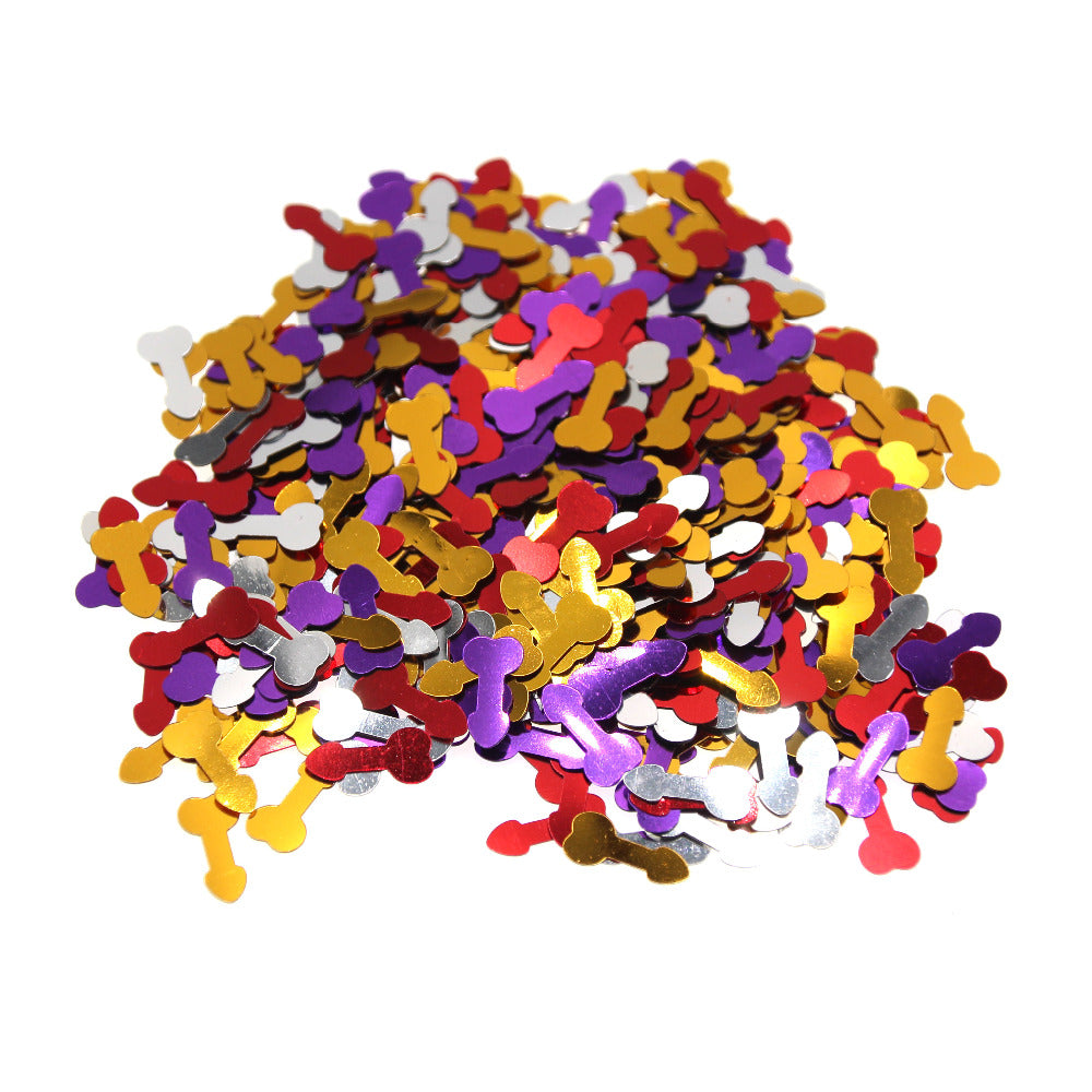 600 Piece Colourful Pecker Penis Confetti