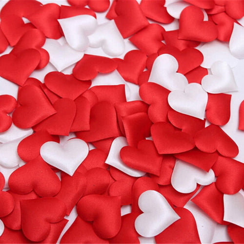 50 Piece Romantic Heart Confetti