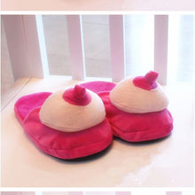 Plush Pecker and Boobs Slippers