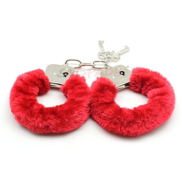 Fluffy Soft Metal Handcuffs