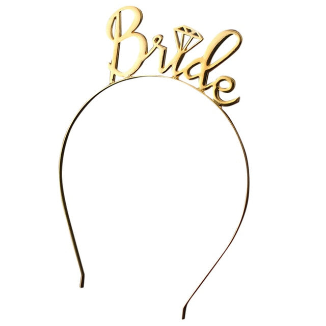 Exquisite Bride To Be Bridesmaid Crown