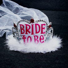 Bride-to-Be Crown and Veil