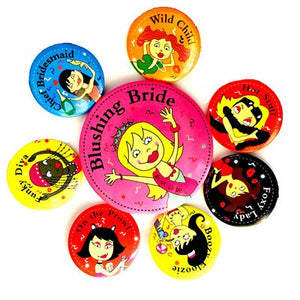 Team Bride Badge Set