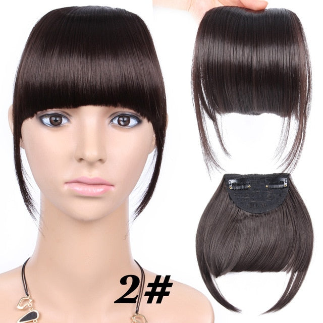Clip In Bangs - monstylemode