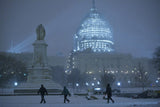 National Capital in the Snow
