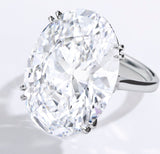 Oval 27 Carat Diamond