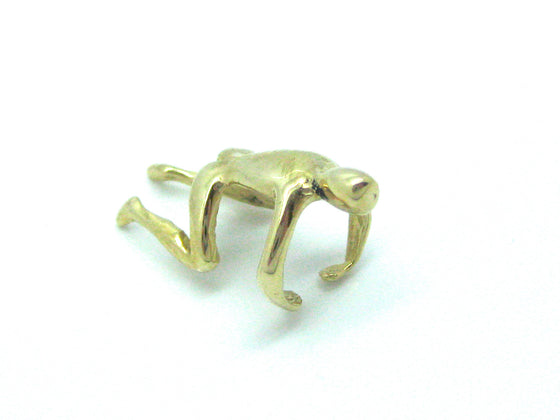 "14 Karat Yellow Gold ""Little Man"" Ear Cuff"