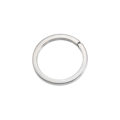 Sterling Silver Round Split Key Ring
