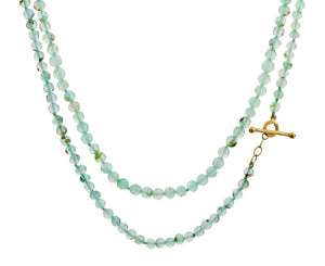 Peruvian Opal Bead Necklace