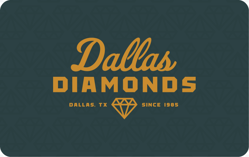 Dallas Diamonds Gift Card