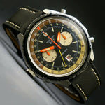 Rare Vintage Breitling Chrono-Matic GMT 48mm Man's Chronograph Watch All Origina