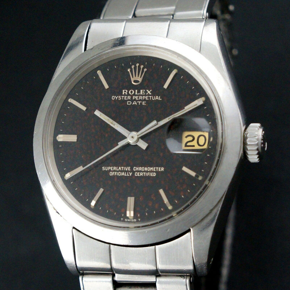 1967 Rolex Smooth Gilt Tropical Confetti 1500