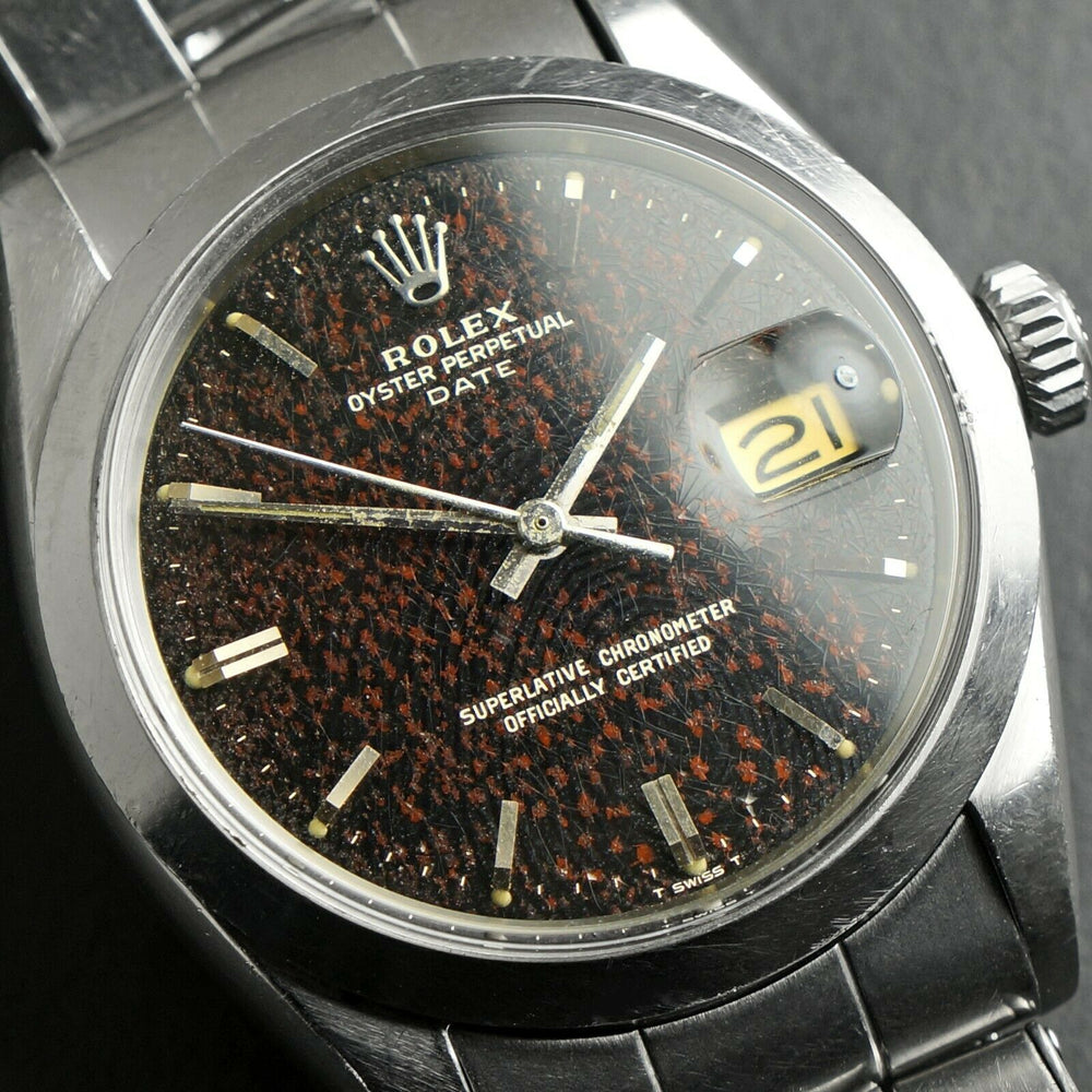 1966 Rolex Gilt Tropical Confetti 1500