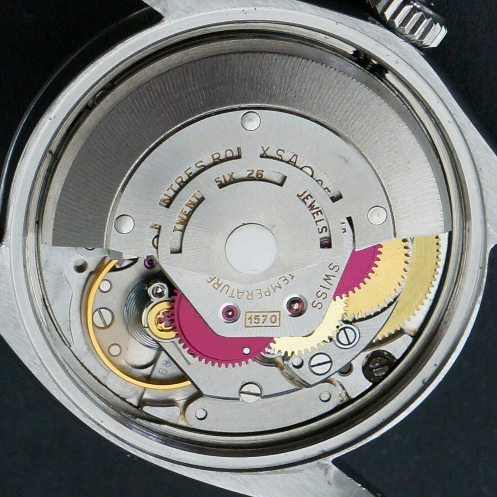 1966 Rolex Smooth Gilt Tropical Confetti 1500 Movement