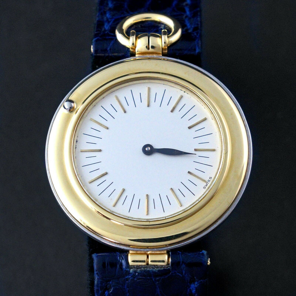 Rare Audemars Piguet Philosophe 18K Yellow Gold Mid Size Men's Watch, Mint Condition Men's Wristwatch