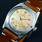 1946 Rolex 2940 Oyster Perpetual Steel Bubbleback Watch, All Original