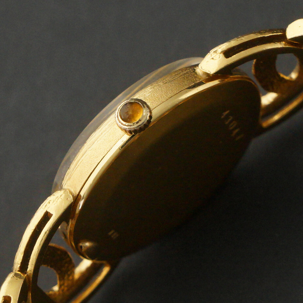 Stunning Universal Geneve Solid 18K Yellow Gold Lady's Bracelet Watch Olde Towne Jewelers Santa Rosa CA