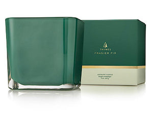 Thymes Frasier Fir Grand Noble Emerald Candle 9 oz