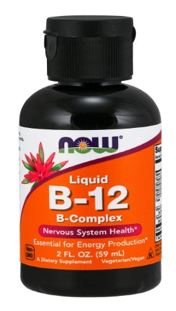 NOW  Vitamin B-12 Complex Liquid - 2 oz.