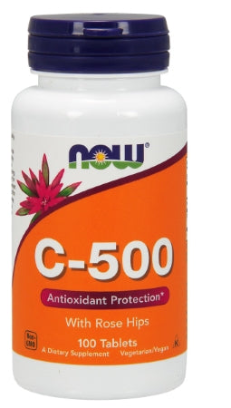 NOW  Vitamin C-500 - 100 Tablets