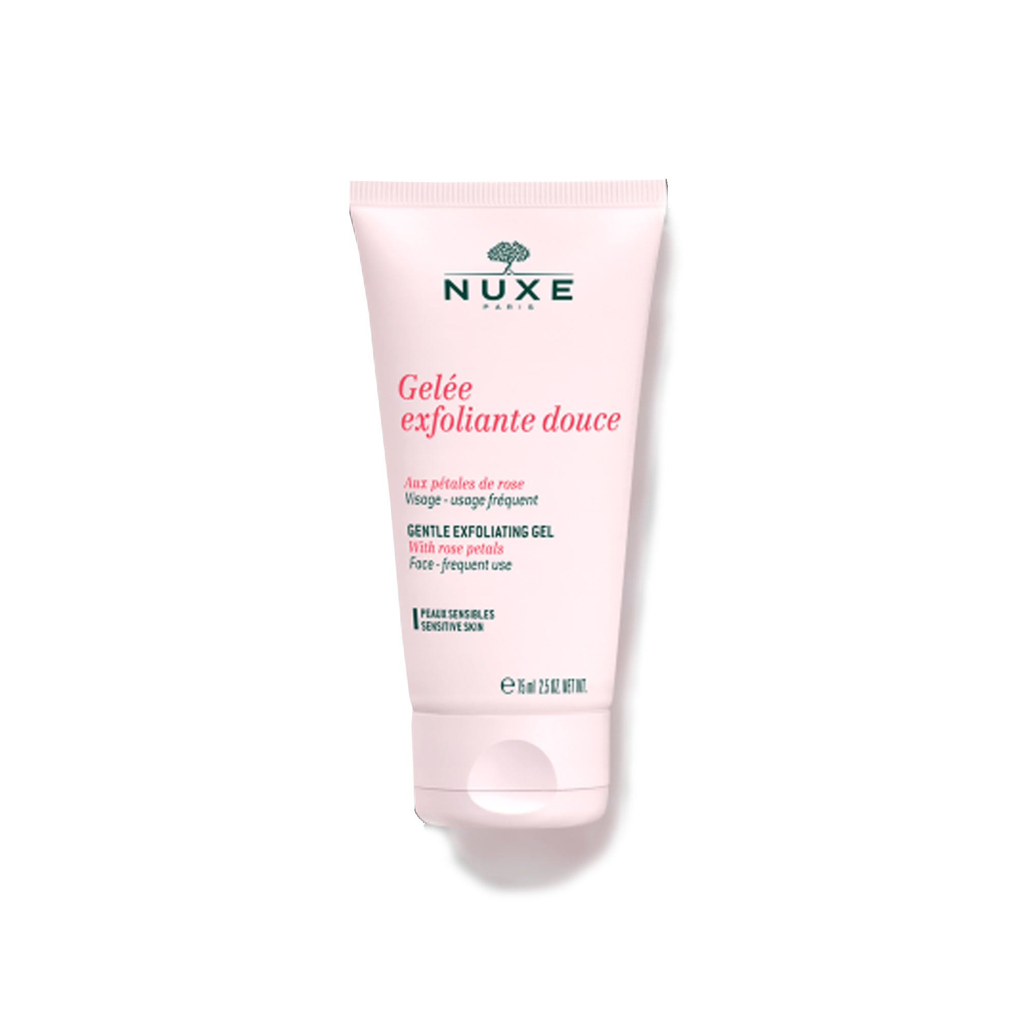 Nuxe Exfoliating Gel with Rose petals 2.5 oz.