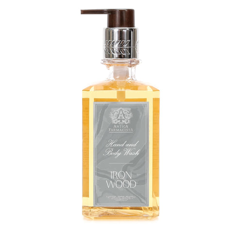 Antica Farmacista Hand and Body Wash Ironwood 10oz