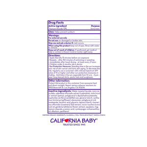 California Baby EVERYDAY/YEAR-ROUND™ BROAD SPECTRUM SPF 30+ SUNSCREEN