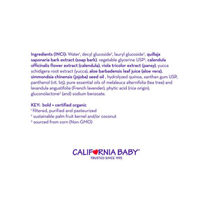 California Baby TEA TREE & LAVENDER™ SHAMPOO & BODYWASH
