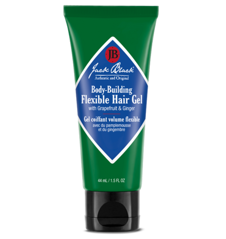 jack black body building hair gel